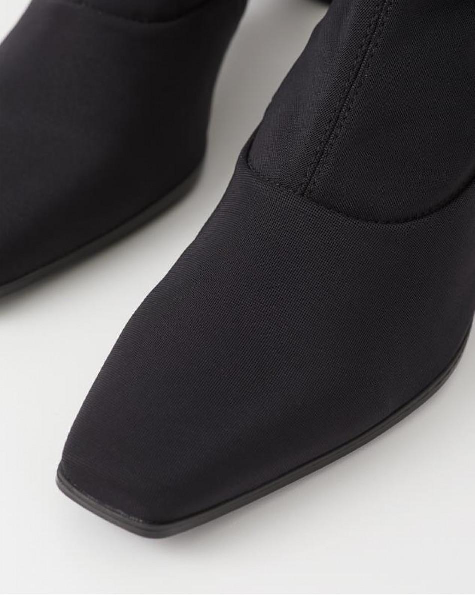 Полусапоги-чулок на устойчивом каблуке