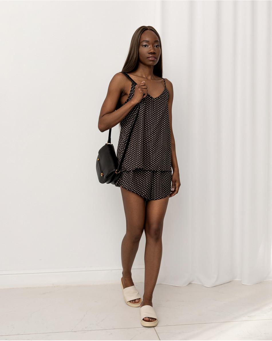 Комплект домашнего белья топ + шорты