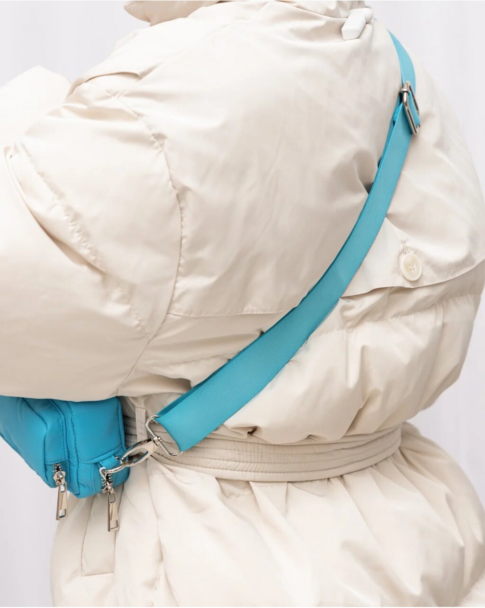 Сумка-мини поясная из текстиля