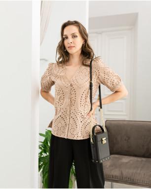 Блуза из шитья