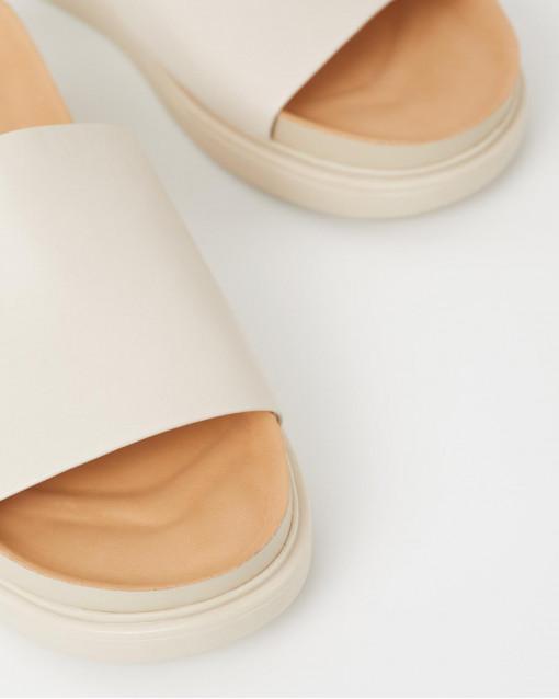 Открытые летние сандалии из натуральной кожи