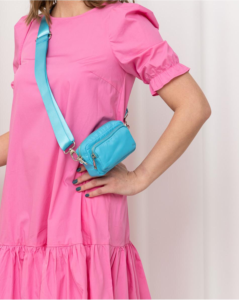 Платье-миди с воланом