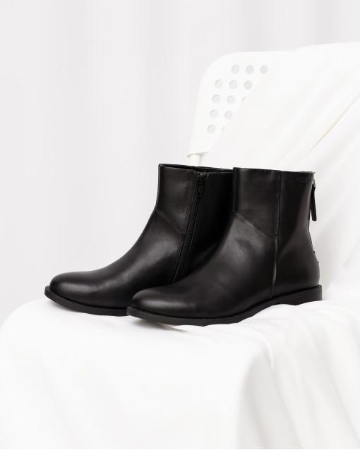 Ботинки демисезонные на молнии сзади