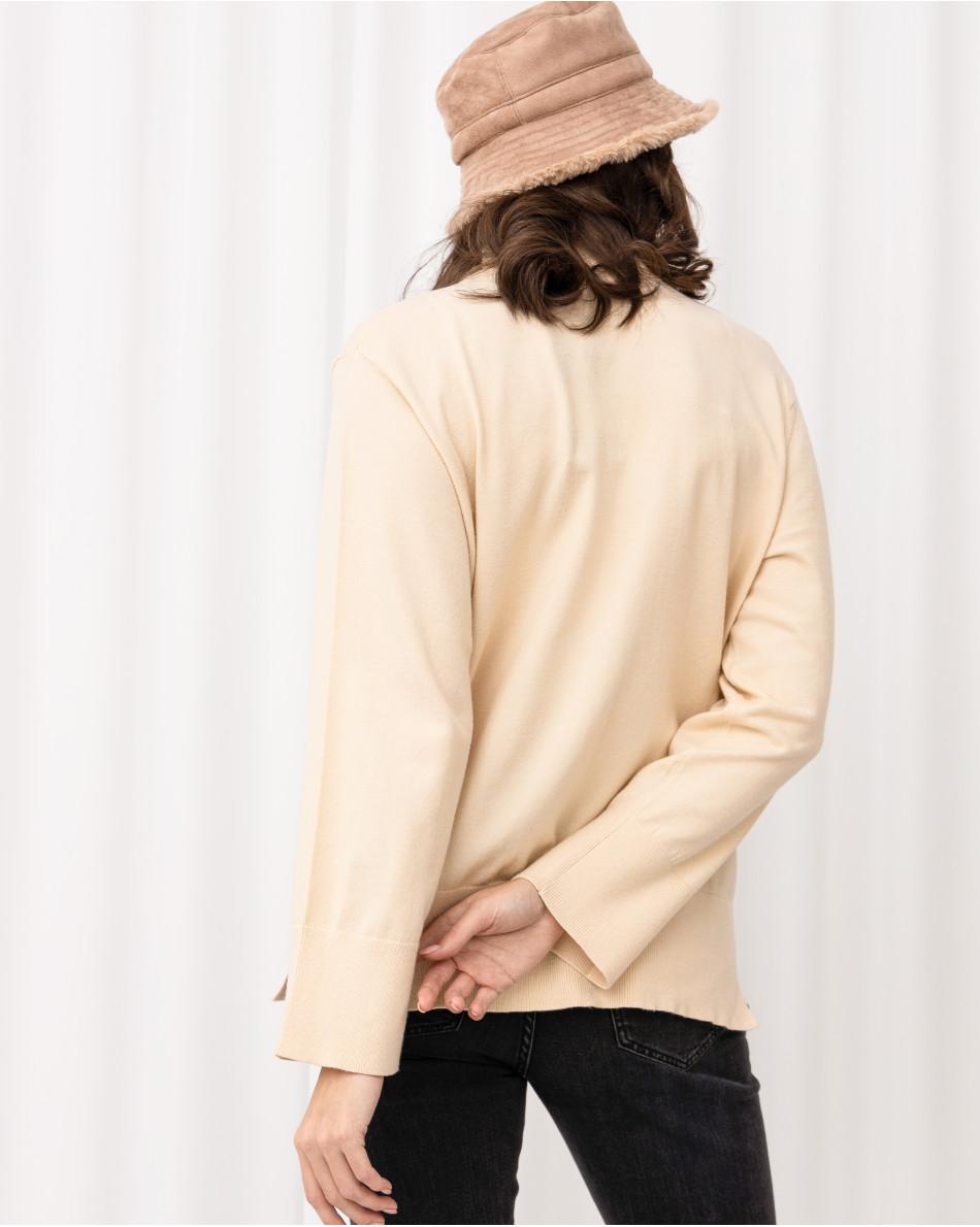 Водолазка с кармашком на груди