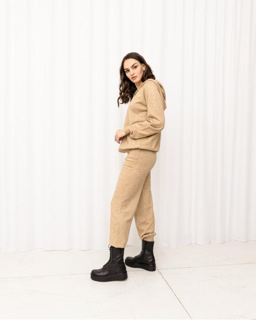 Костюм джемпер с капюшоном + брюки