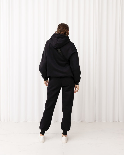 Костюм свитшот с капюшоном + брюки