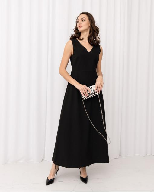 Платье-миди А-силуета