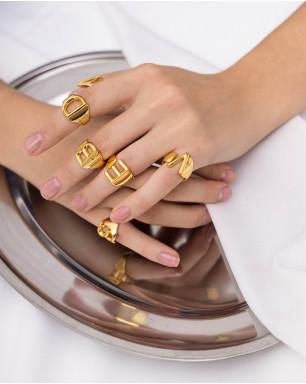 Кольцо буквенное