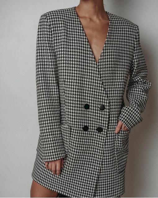 Пиджак гусиная лапка