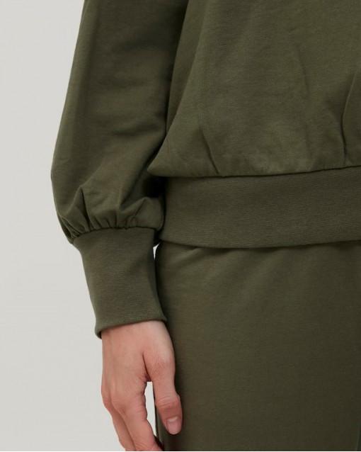 Костюм трикотажный свитшот с капюшоном + брюки
