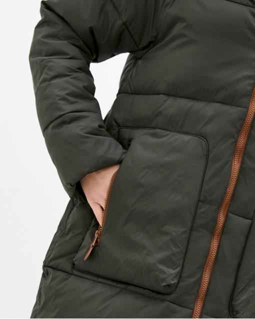 Куртка удлиненная утепленная