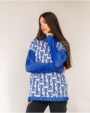 Джемпер трикотажный BLUE